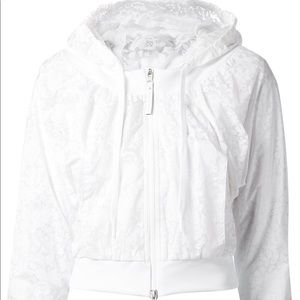Stella McCartney for Adidas White Barricade Jacket